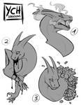 Dragon headshots - YCH CLOSED