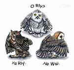 Three Wise Net Owls