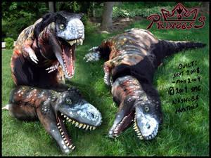 Princess, Tyrannosaur costume