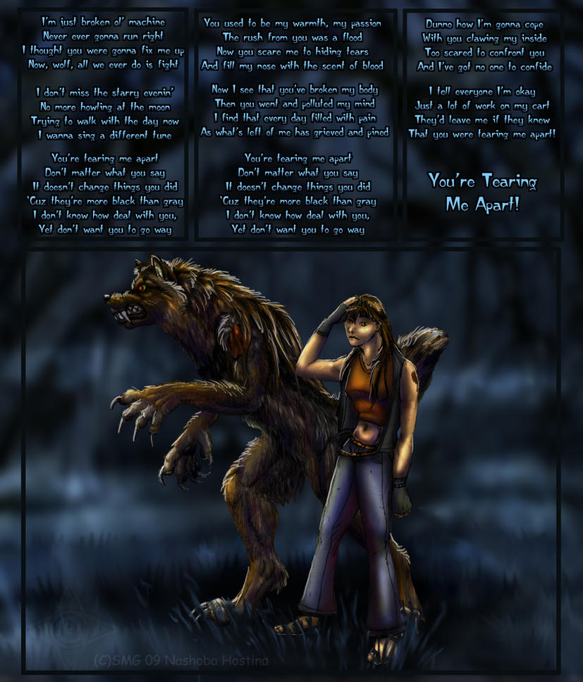 Torn Apart: Torn Apart By Nashoba-Hostina On DeviantArt