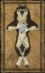 Tharraingt Anuas an Ghealach -Celtic Wolfsjal-