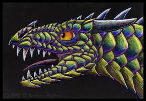 Draco Loricatus Nocturnus by Nashoba-Hostina