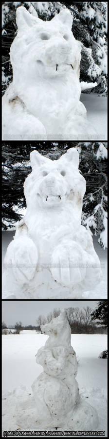 Snow Werewolf