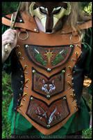 Leather Elemental Armor by Nashoba-Hostina