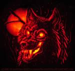 Werewolf Pumpkin Carving