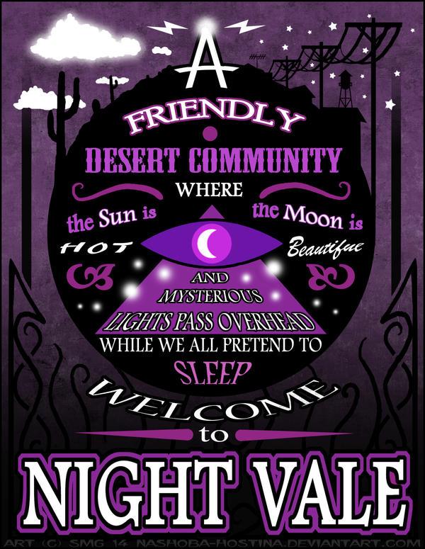 Night Vale Poster By Nashoba Hostina On Deviantart