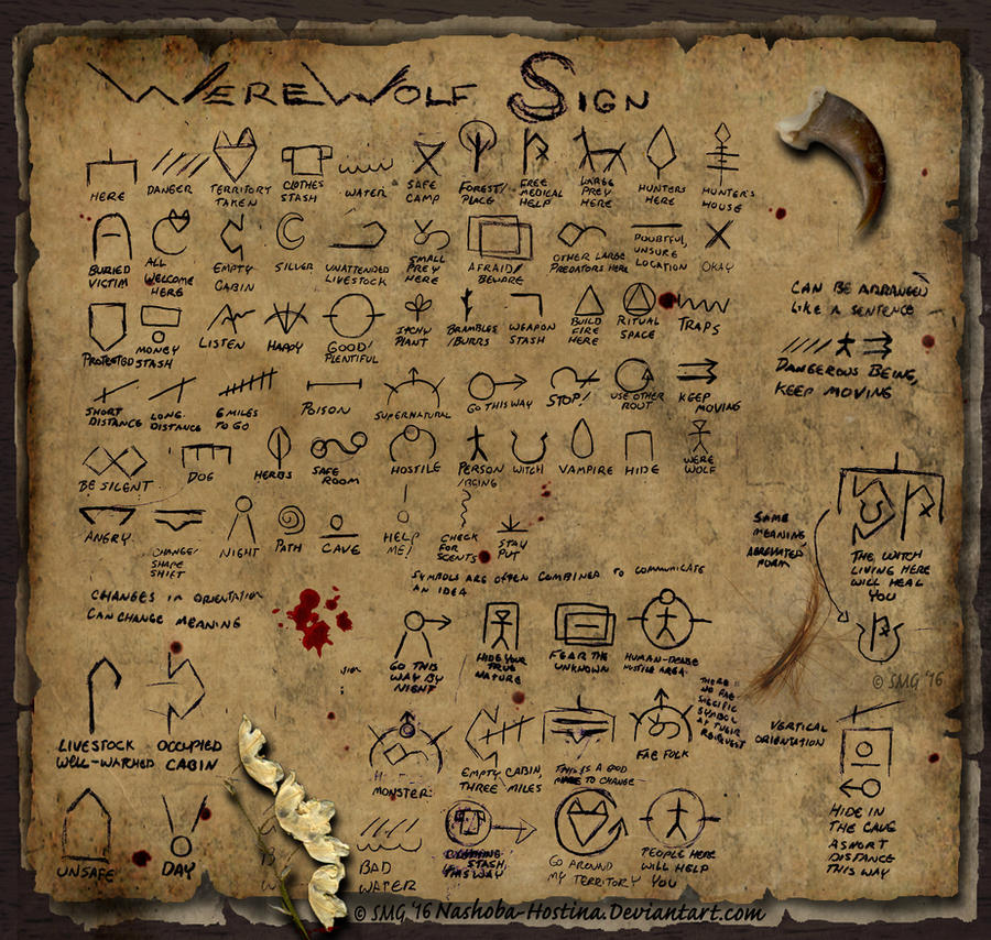 werewolf symbols and meanings wwwimgkidcom the image