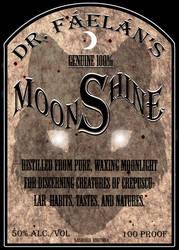Werewolf Moonshine Label by Nashoba-Hostina
