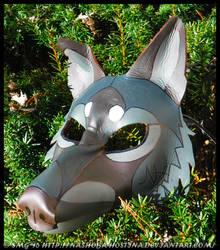 Shade Leather Mask by Nashoba-Hostina