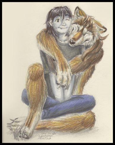 A Warm Hug by Nashoba-Hostina