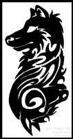 Duality Tribal for Sharpfang by Nashoba-Hostina