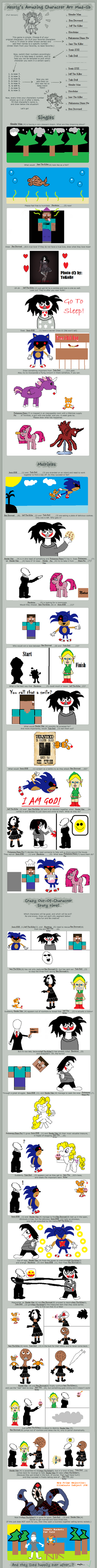 Creepypasta Character Art Mad Lib by Fortuneteller102