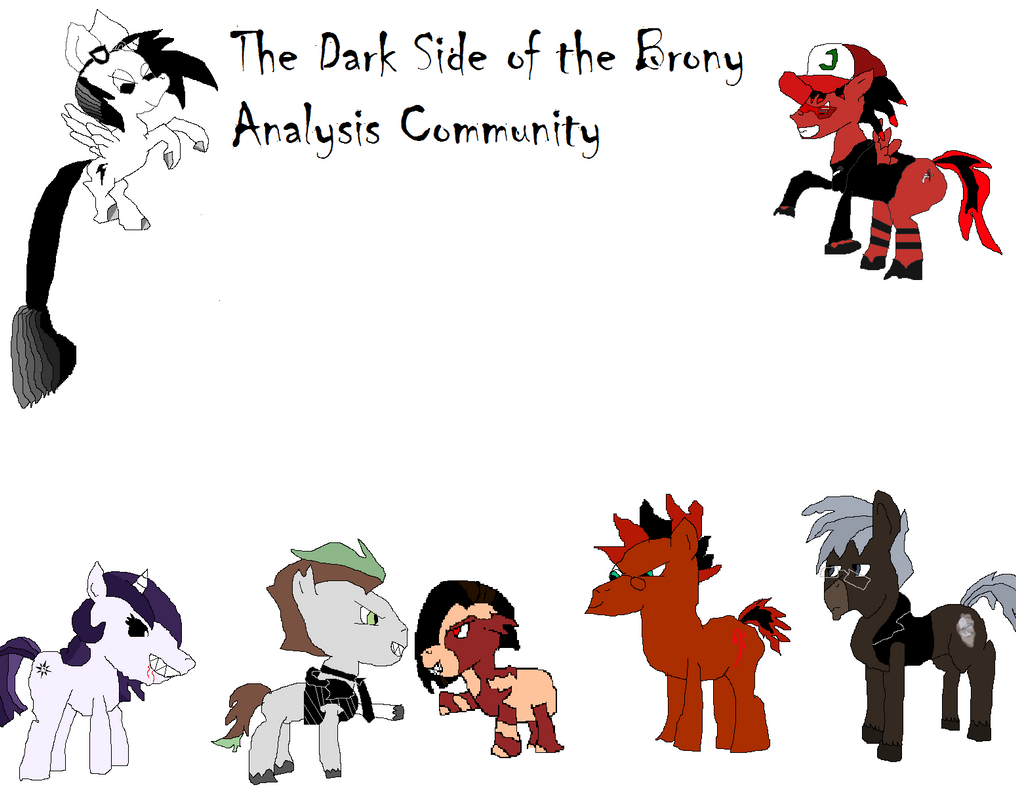 The Dark Side of the Brony Analysis Community by Fortuneteller102