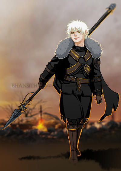 Dark Souls 2 Character by Bhansith