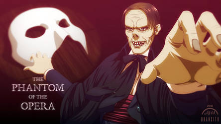 The Phantom of the Opera (Lon Chaney Sr.) by Bhansith