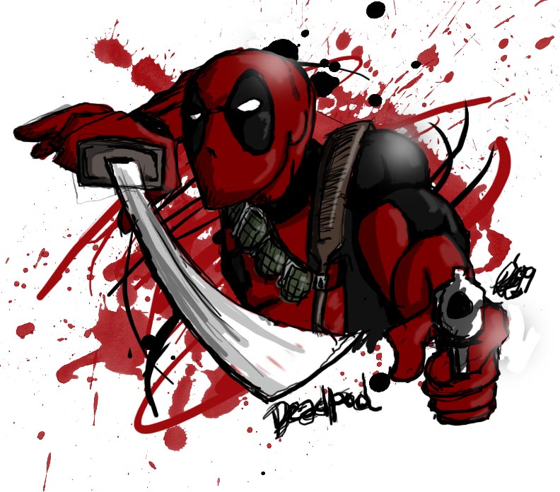 Fun with Deadpool by moloko-plus on DeviantArt