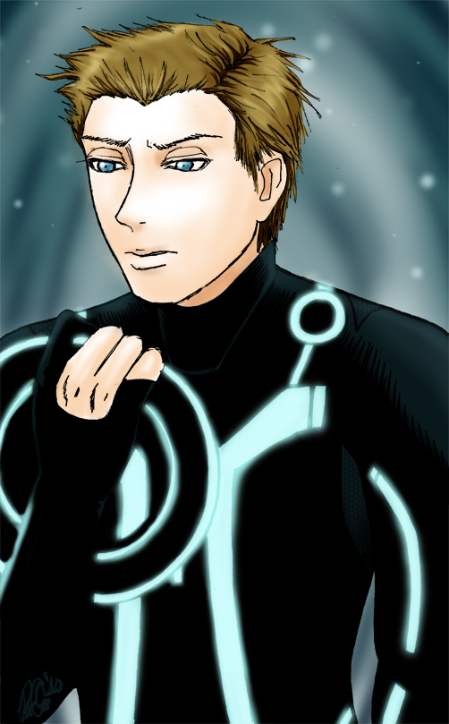 It's TRON week: Sam by moloko-plus