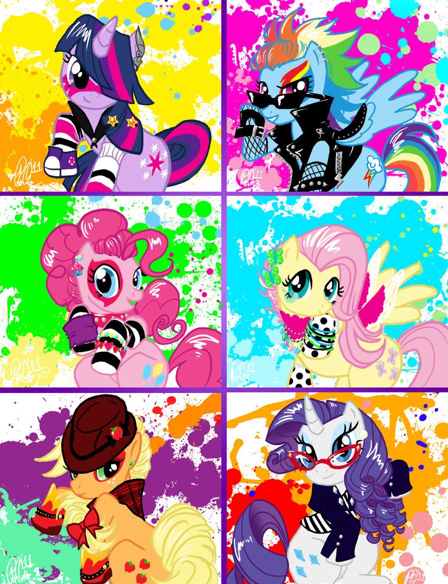 My Awesome Pony by moloko-plus