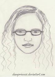 young Marta portrait by DawnArts