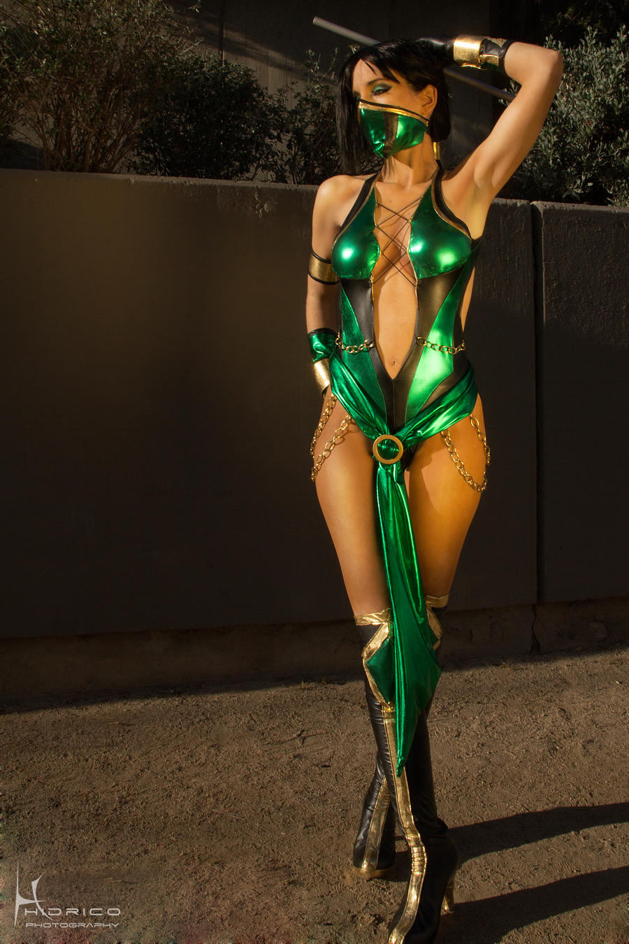 Mortal Kombat 9 - Jade by DawnArts