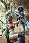 Mortal Kombat trio