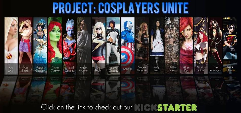 Project: Cosplayers Unite by DawnArts
