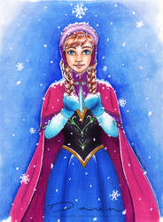 Frozen: Anna by DawnArts