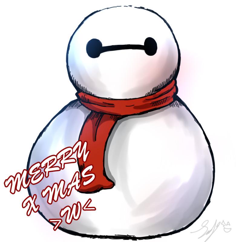 Baymax Christmas by RoronoaxPhantom on DeviantArt