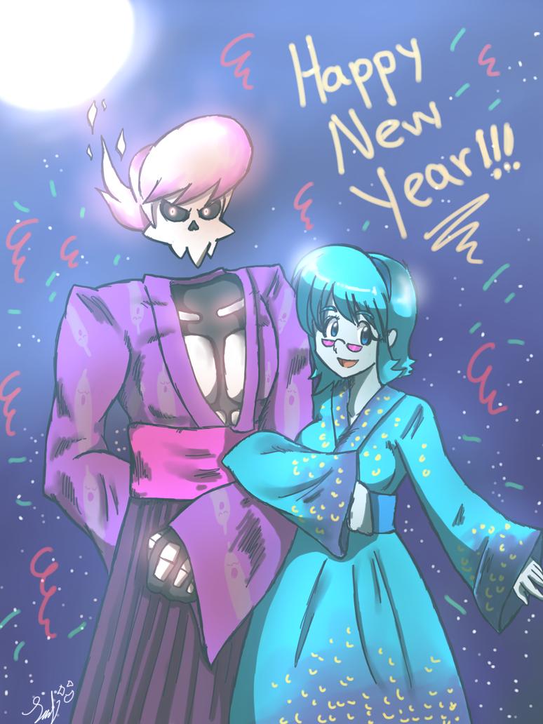 MSA Happy New Year 2015 by RoronoaxPhantom