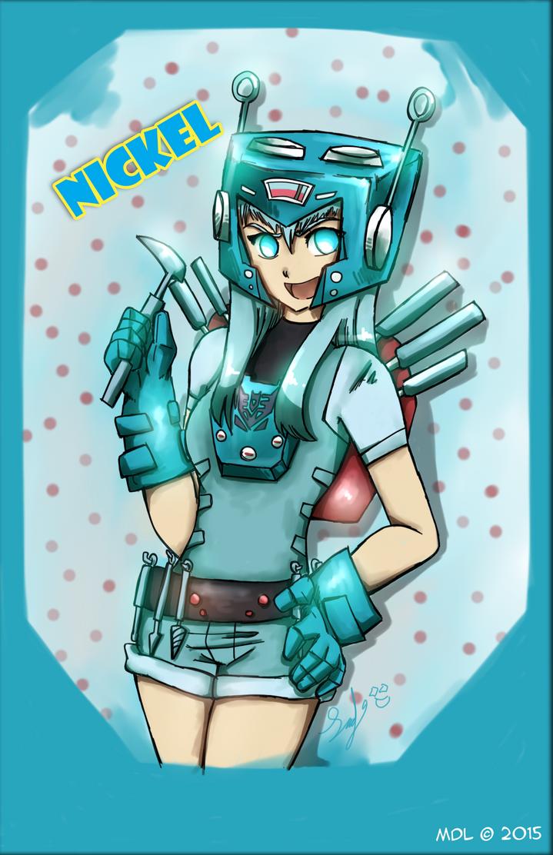 Nickel Gijinka version by RoronoaxPhantom