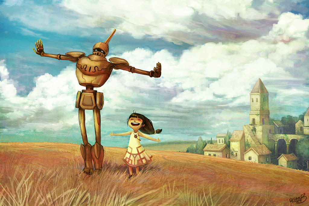 the girl and the robot download free
