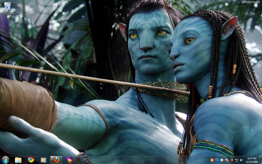 Avatar Desktop by ignitepressure