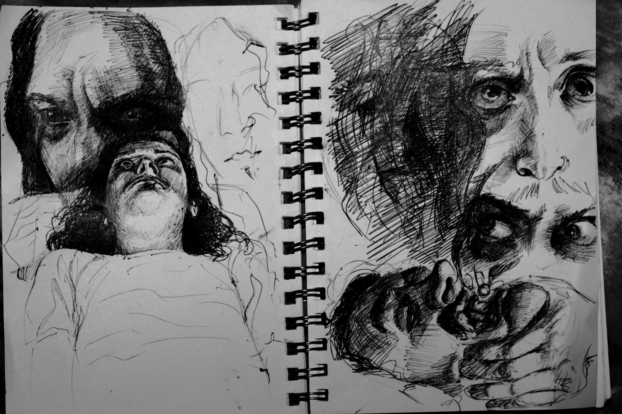 Insanity Sketches By NingerGinjaaahh On DeviantArt