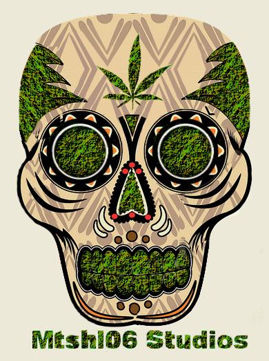 pot leaf wallpaper