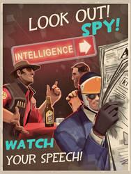 Look out! BLU SPY!