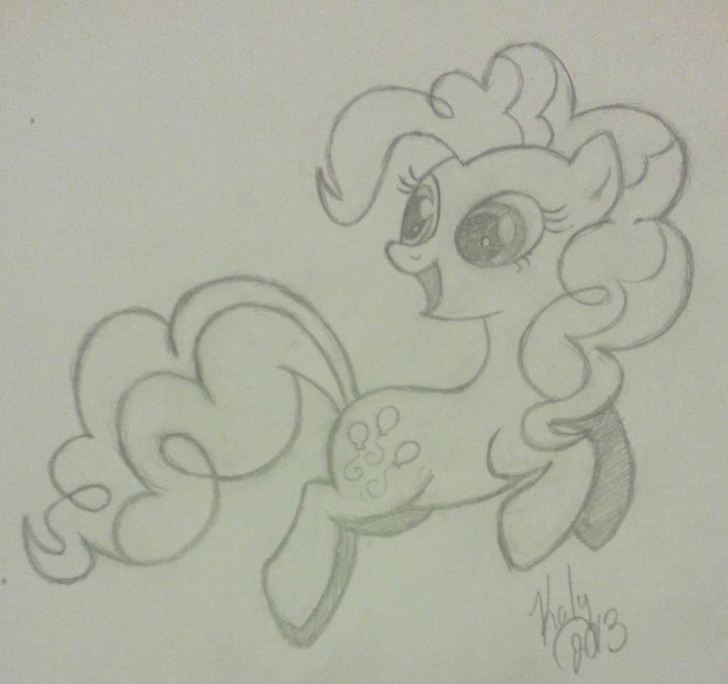 Pinkie Pie - WIP by Kalyandra