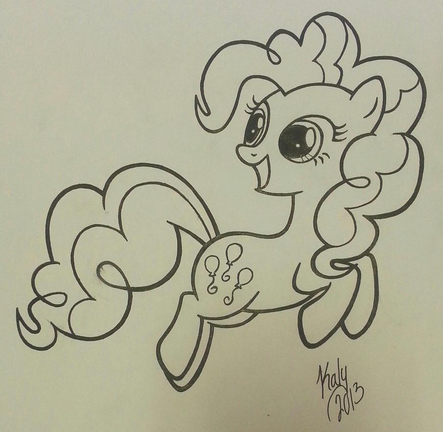 PinkiePinkie Pie - inked by Kalyandra