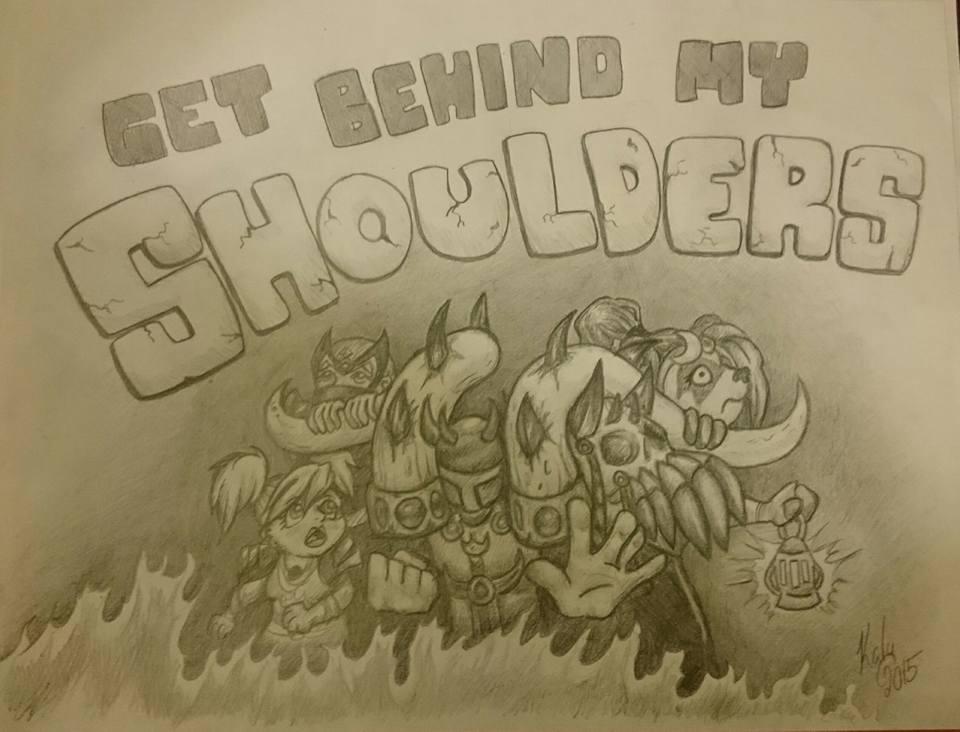Get Behind My Shoulders! by Kalyandra
