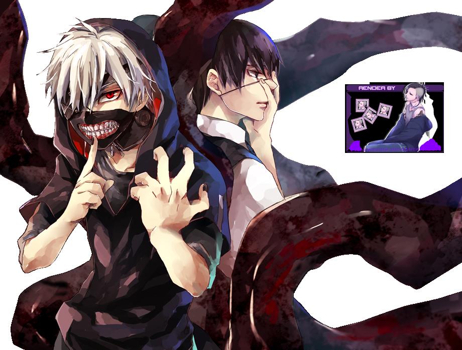 [74]  Tokyo Ghoul    Renders  Kaneki_ken__tokyo_ghoul_render__by_princedork-d7wfjt3