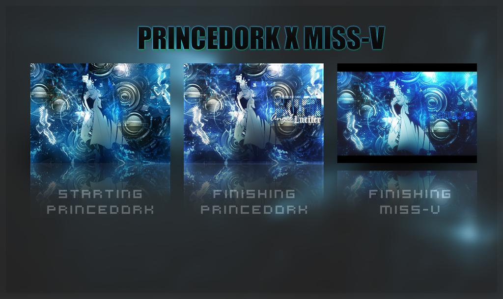Collaboration With Miiss-V by princedork
