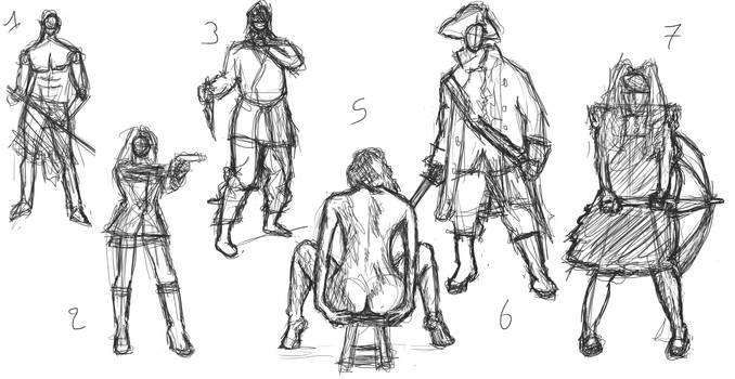 Sketches of week #001