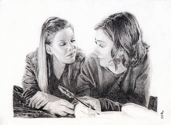 Tara and willow by mystic17