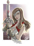 Beatrix from Final Fantasy IX