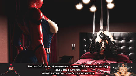 SpiderWoman - A bondage story by CyberCpt