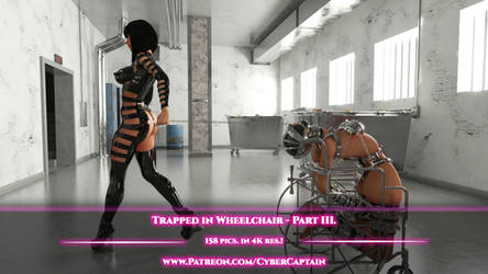 Trapped in Wheelchair - Part III. - 158 pics. by CyberCpt