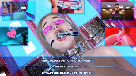 The Collector - Chpt. III. - Part II.(108 pics.4K) by CyberCpt