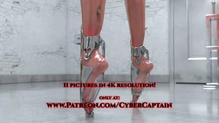 Ballet Heels (Hardcore) by CyberCpt