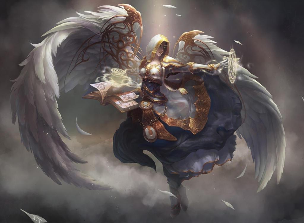 Angel Knight By Gilbertbeilschmidt0 On Deviantart