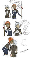 Marric and Fenris rivalmance by Adre-es