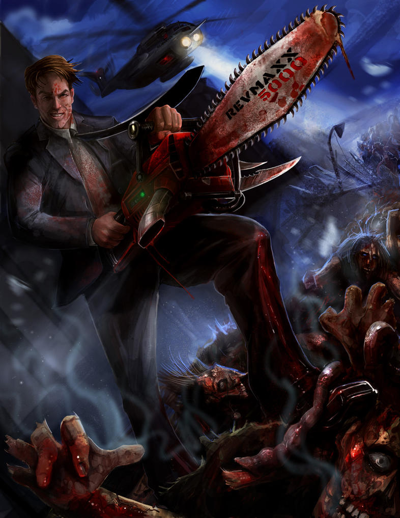 Zombie Cover Art Concept by stevegoad 45 Awesome Apocalyptic Zombie Artworks